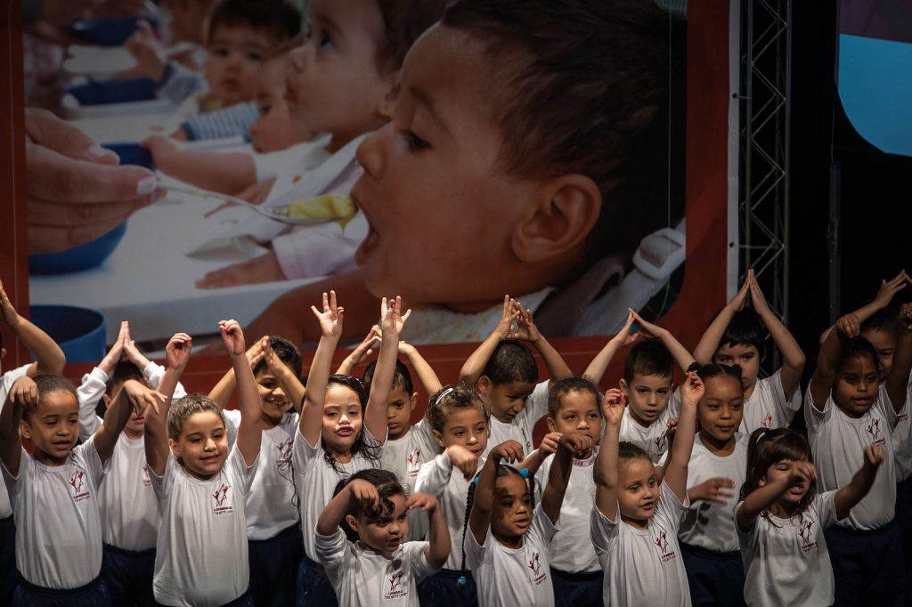 A participação social de crianças já é realidade em algumas cidades,