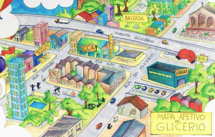 Mapa Afetivo do Glicério