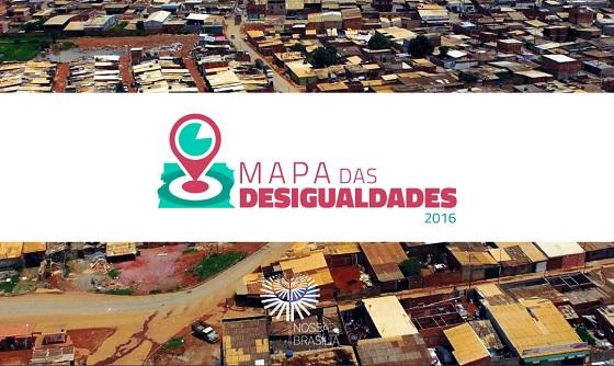 700b9d7f6 Sociedade civil do Distrito Federal também produziu um Mapa da Desigualdade.