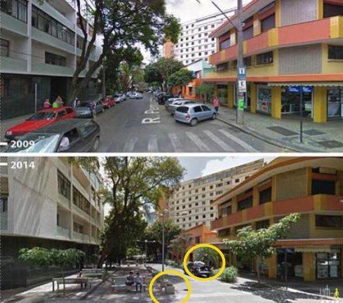 Rua Compartilhada em Belo Horizonte