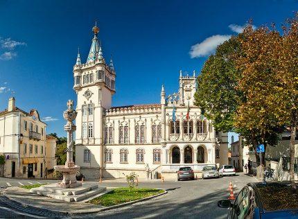 Câmara Municipal de Sintra, segunda maior cidade portuguesa e sede do projeto Ver de Novo Sintra