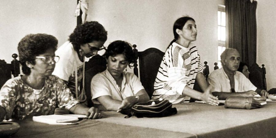 professores fazem assembleia em alagoas em 1988