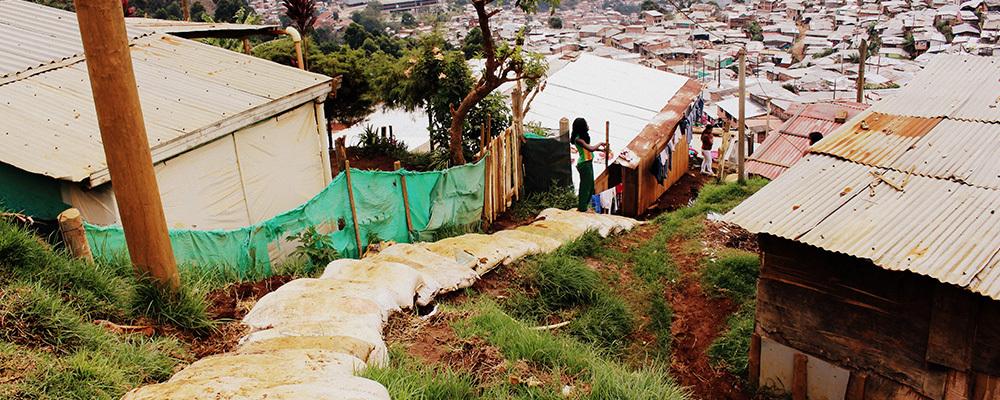 comunidade em Medellín